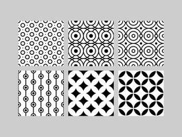 Enkla B & W-mönster 4