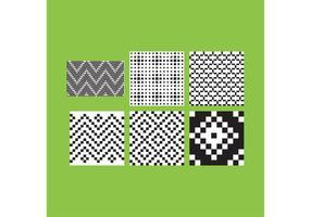 Enkla B & W-mönster 3