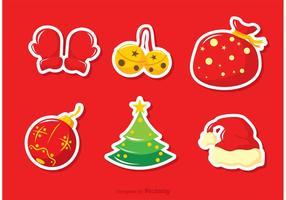 Weihnachten Jingle Bells Vector Pack Zwei