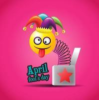 april luras dag jack-in-the box skylt