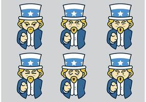 Uncle Sam Vectors
