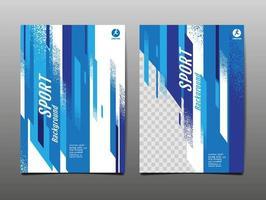 Sport Layout Vorlage Design-Set