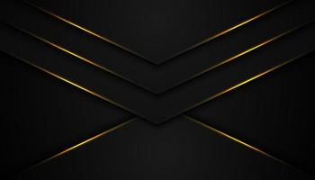 schwarzer abstrakter Hintergrund mit V-förmigen Schichten