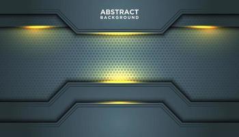 grauer abstrakter Hintergrund mit geometrischen Grenzschichten