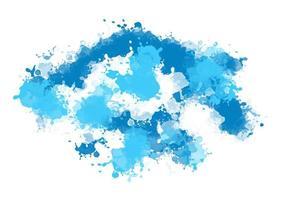 Aquarell Splatter Hintergrund vektor