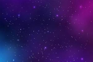 schöner Raumhintergrund vektor
