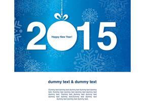 Nyårsafton 2015 Vector