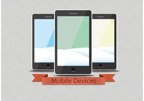 Kostenlose Vektor Smartphones