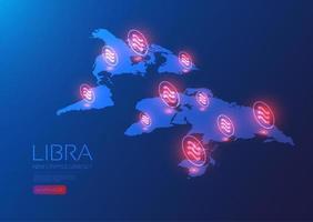 libra globala nätverk isometriska