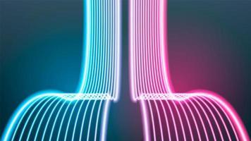 neon ljus bakgrund vektor