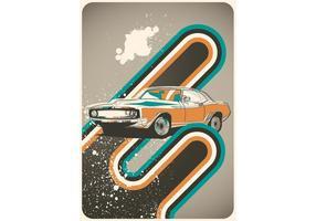 Poster Autos Retro Vektor