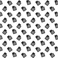 Dokumentensymbolmuster vektor