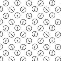Hintergrund des Informationssymbols vektor