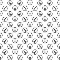 nedladdning ikon bakgrund vektor
