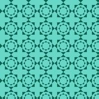 hellblau grün geometrische Formen Muster