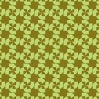 limegrön geometriska abstrakta hjulmönster vektor