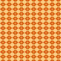 nahtloses Muster des orange und gelben geometrischen Diamanten