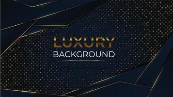 Luxushintergrund mit abgewinkelter Form und Glitzer vektor