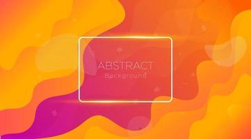 abstrakter verflüssigender flüssiger bunter Hintergrund vektor