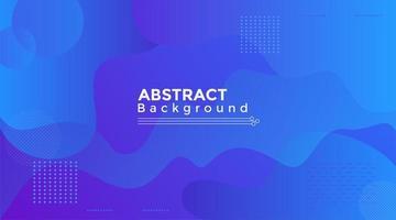 fließende abstrakte Form lila und blauer Hintergrund