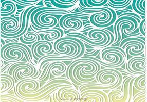 Linje swirly pattern vektor
