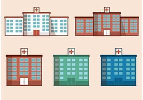 Free Vector Krankenhaus Gebäude