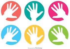 Helfende Hand Icon Vector Pack