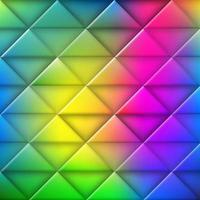 färgglada abstrakta triangelmönster