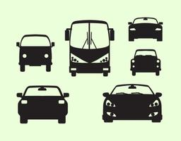 Blick auf den Auto vektor