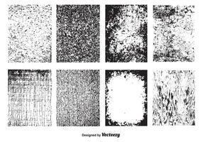 Vektor Grunge Texturer