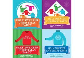 Hässliche Weihnachtsstrickjacke Flyer