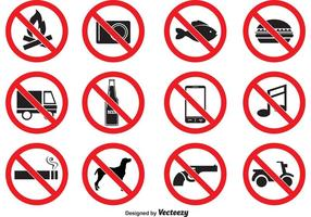 Förbjudna vektorikoner