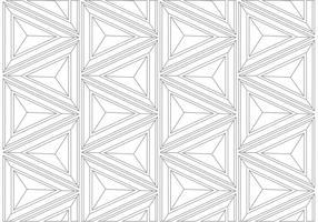 Geometrisches lineares Hintergrundmuster vektor