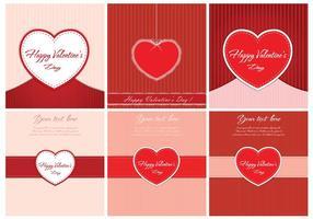Gratis Vector Valentinsdag Bakgrunder
