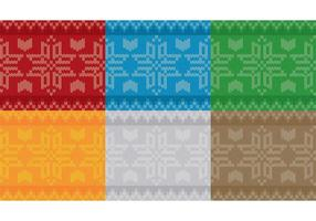 Weihnachten Schneeflocke Pullover Muster