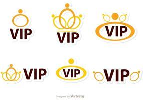Ringar Vip Ikoner Vector Pack