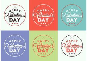Valentinstagkarten vektor