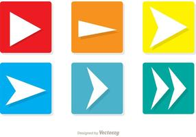 Square Weiter Icons Vector Pack