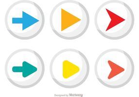 Zirkular-Medien-Vektor-Pack