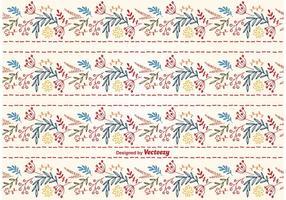 Nettes Blumenhintergrund-Muster