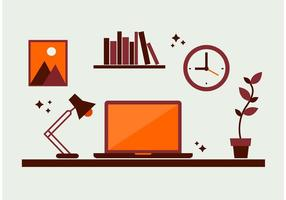 Desktop-Elemente Vektoren
