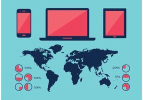 Infografische Element Vektoren