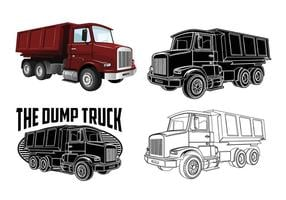 Dump Truck Vektoren