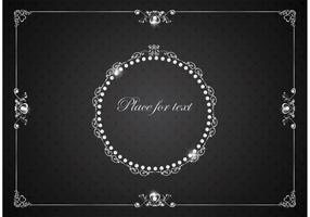 Gratis Vector Silver Luxury Vintage Ramar