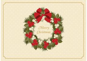 Gratis Advent Wreath Vector