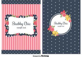 Shabby Chic stil bakgrunder