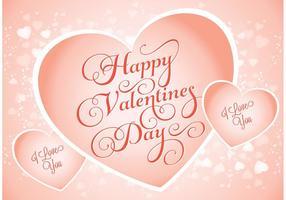 Valentinstag Hintergrund vektor