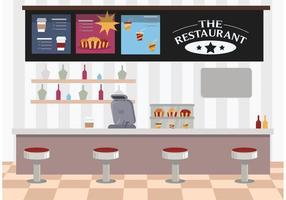Restauranginteriör