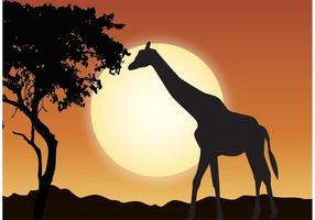 Utomhus Wildlife Illustration
