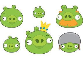 Karikatur-Piggies